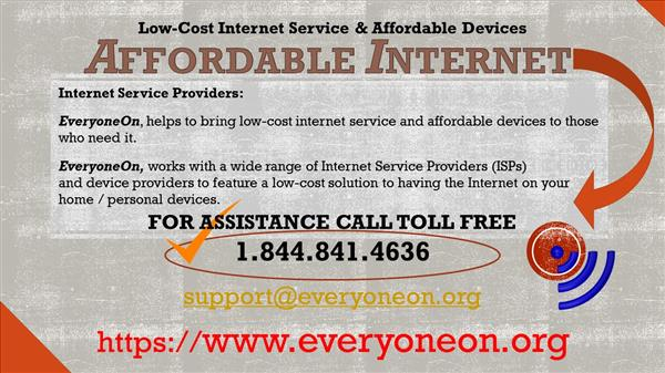 Affordable Internet slide