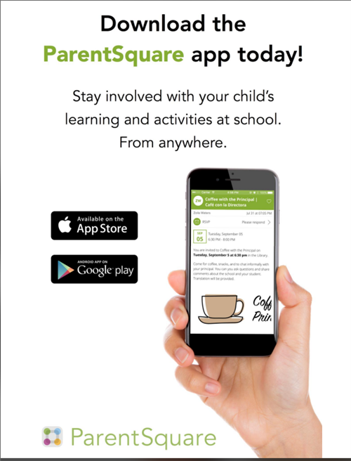 ParentSquare APP flyer