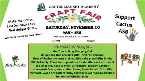 CA - Craft Fair