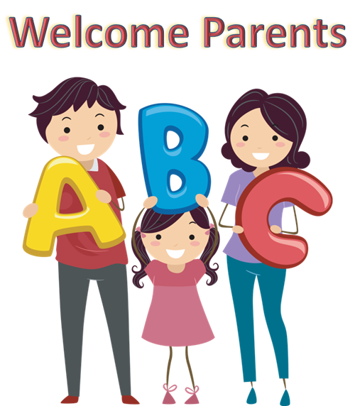 Welcome Parents clip art
